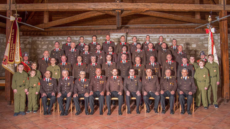 2019_Mannschaft_1_Freiwillige Feuerwehr Trausdorf